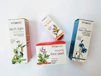 Homeopathic Birch bark Herbal Care skincare moisturizers, Sylveco brand