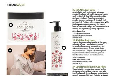 ROSADIA Body Scrub and Lotion in Smart Retailer Magazine