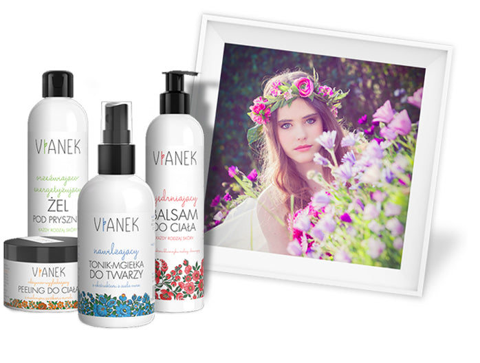 Vianek Brand natural and homeopathic skincare products