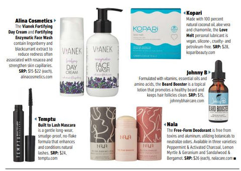 Vianek Fortifying in Beauty Store Business magazine