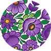 Vianek Purple Collection Pattern