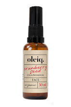 Organic cranberry seed cold-pressed oil. Oleiq