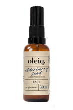 Elderberry seed organic cold-pressed oil. Oleiq