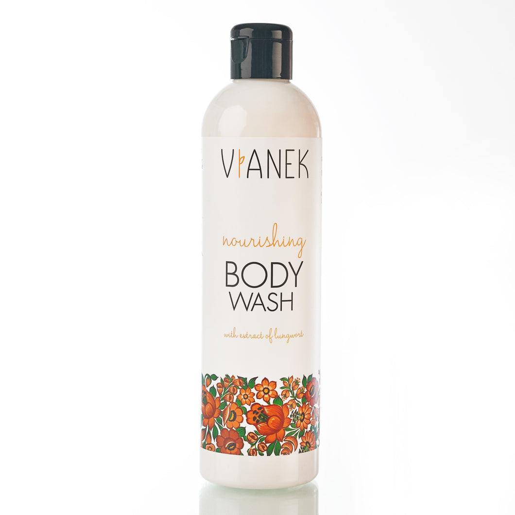 Nourishing Body Wash with Litsea and Rue Leaves, Sylveco