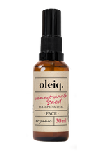 Pomegranate seed oil. Cold-pressed. Organic. Oleiq