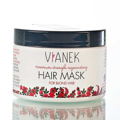 VIANEK MAXIMUM STRENGTH REGENERATING MASK FOR BLOND HAIR
