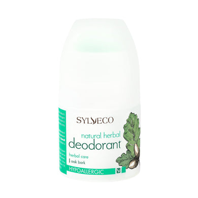 SYLVECO Natural Herbal Deodorant with oak bark. Hypoallergenic