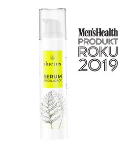 Men's Health Magazine Product of the Year 2019 award, antibacterial serum for acne DUETUS