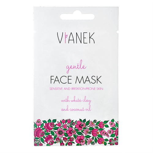 Vianek Gentle Face Mask Sensitive and Irritation Prone Skin with white clay and coconut oil