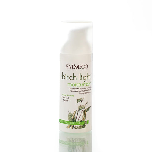 Birch Light Moisturizer - Face Cream, Sylveco