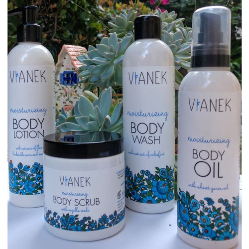 Body Care Moisturizing Dry Skin Set - Gift Set