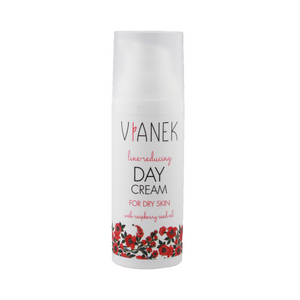 Anti-Wrinkle Day Cream for Dry Skin, Vianek Red