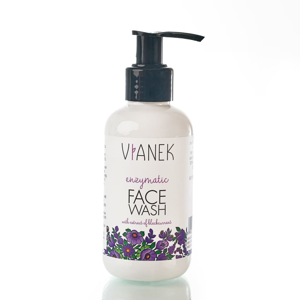 Fortifying Enzymatic Face Wash For Rosacea Care, Vianek