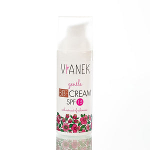 Natural BB Cream and moisturizer for darker skin, Vianek