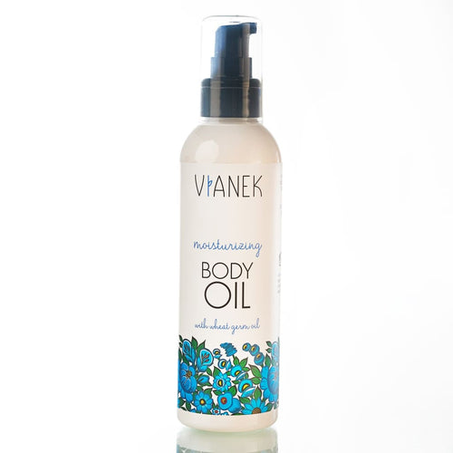 Moisturizing Body Oil With Wheat Germ Oil - Lotion