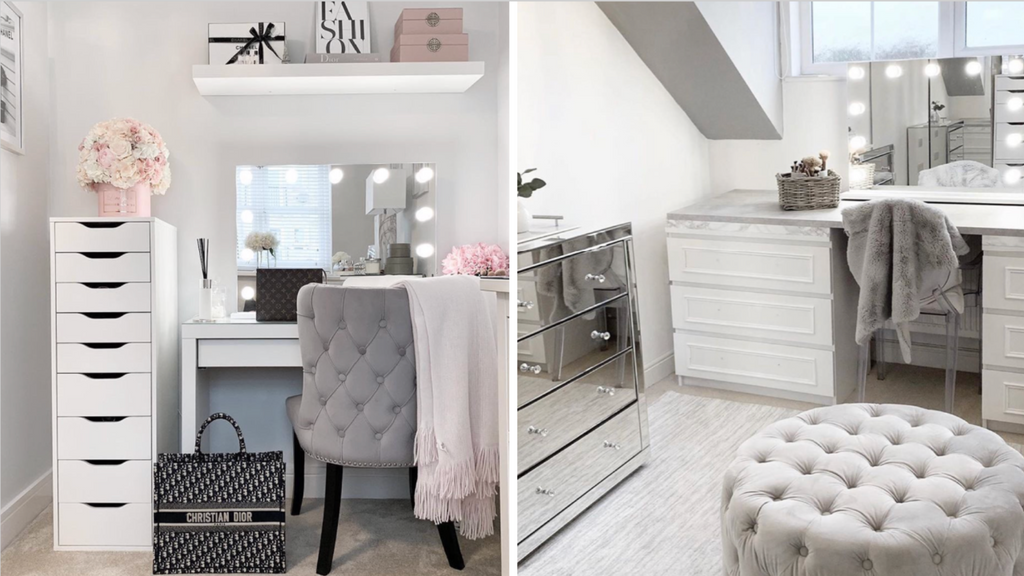 Five tips for decorating & dressing up your vanity space