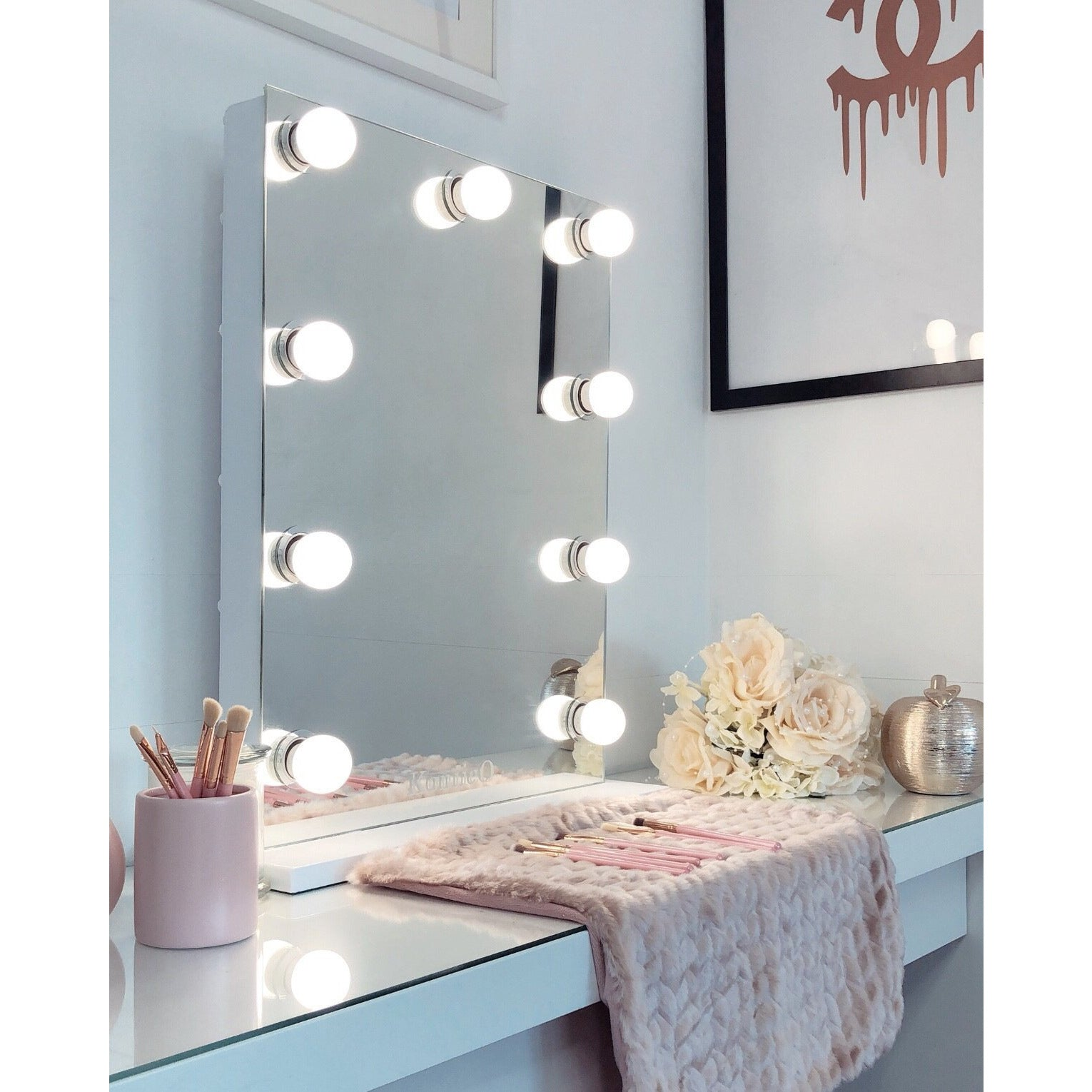 The Metropolitan Frameless Vanity Mirror