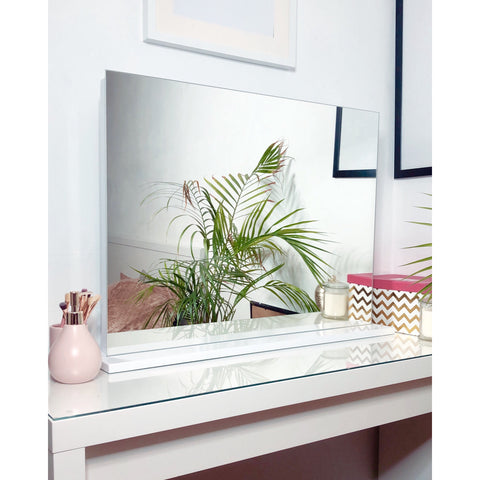 The Chelsea Frameless Dressing Table Top Mirror