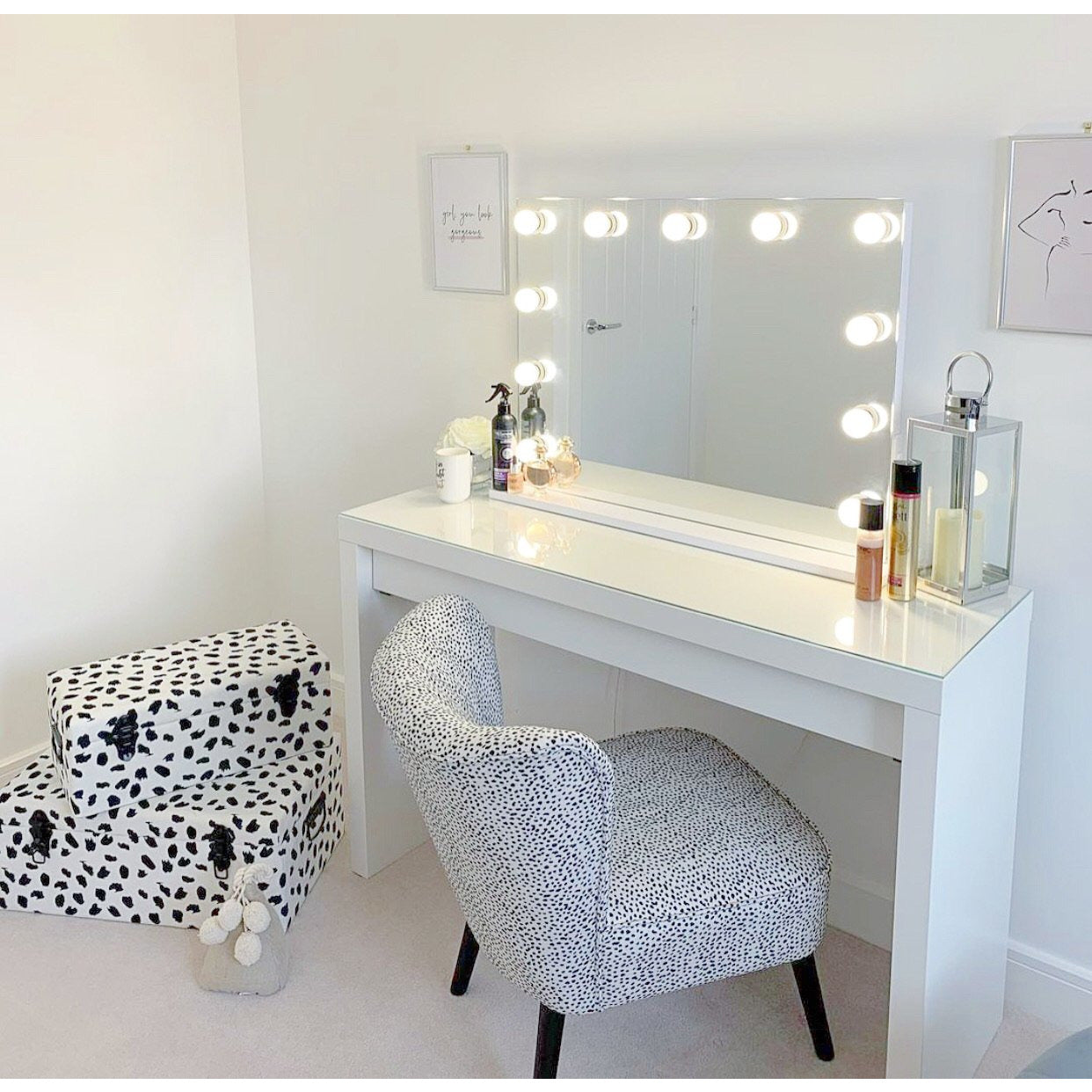 The Piccadilly Frameless Vanity Mirror