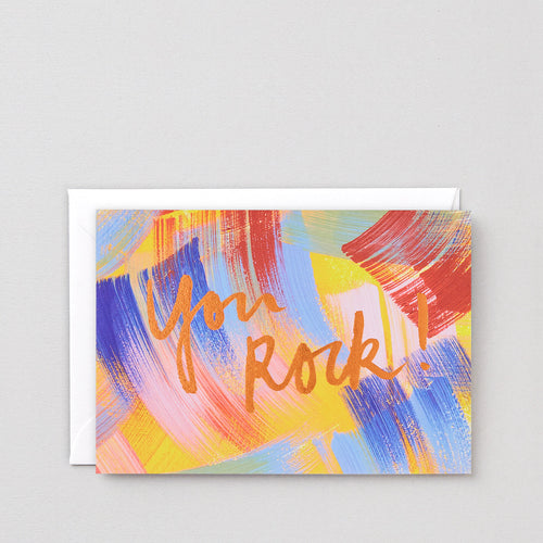 WRAP | You Rock Greeting Card