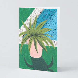 WRAP | Art Greeting Card | Plant Study 2