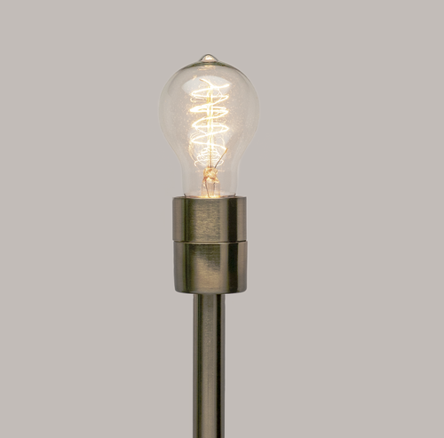 Old Fashioned Light Bulb | Victorian Style (Vertical Spiral)