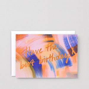 WRAP | Best Birthday Greeting Card