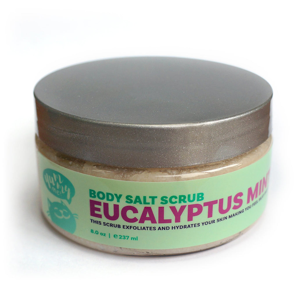 Yummy Me | Body Scrub | Eucalyptus Mint Salt