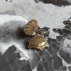 Erin Greenough | Gramophone Lapel Pin