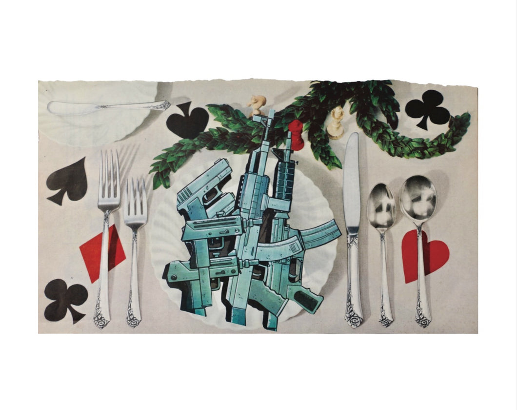 Nichola Hildebrand | 8x10 Collage Print | An Expensive Meal