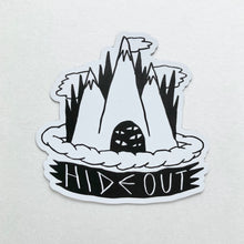 Hideout Refrigerator Magnet