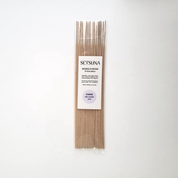 Setsuna | Hand-rolled Incense | Sombre