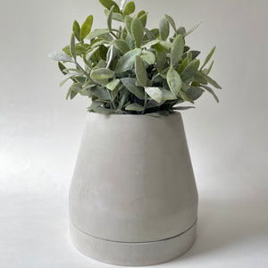 Ryspot | Concrete Planter | Turbine | Natural