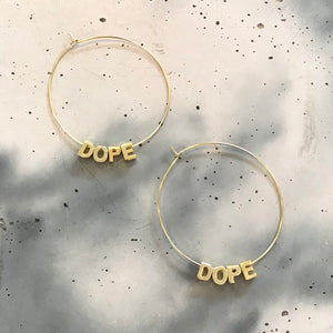 Karmen Victoria Studio | Dope Ear Hoops | Large
