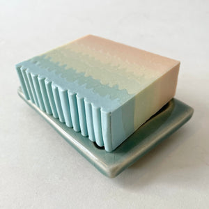 Lo-Fi Ceramics | Soap Dish | Blue
