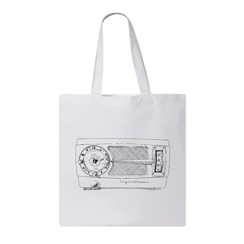 It's A Cryin Shame | Tote Bag | Radio