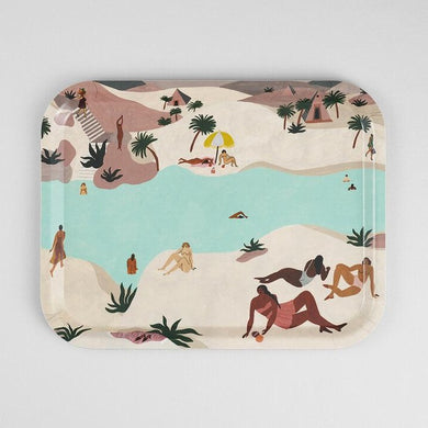 WRAP | Desert River Rectangle Tray