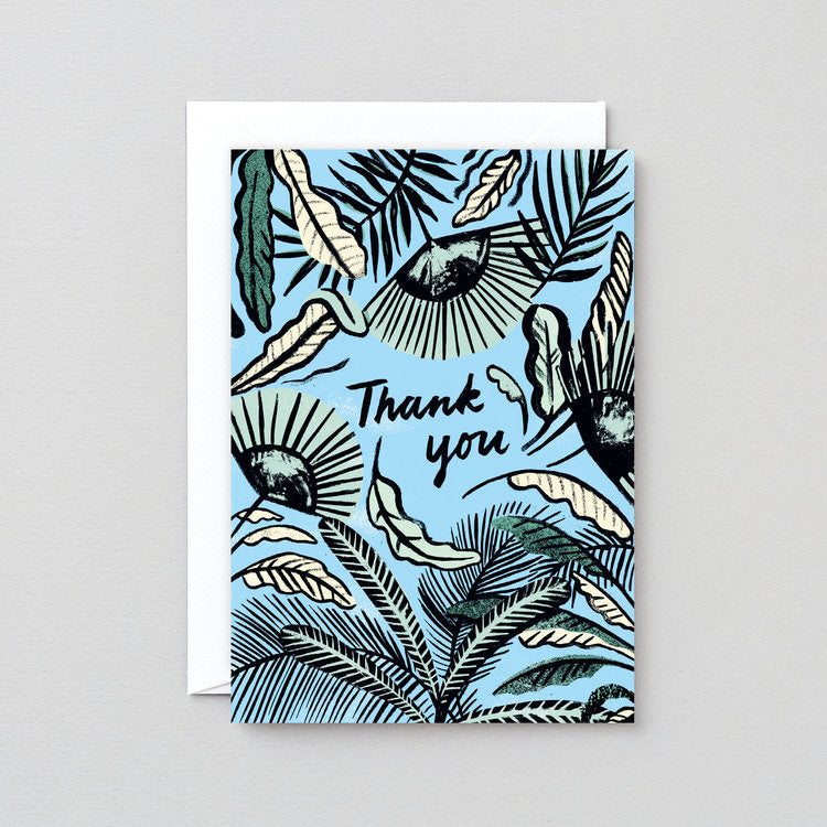 WRAP | Thank You Foliage Greeting Card