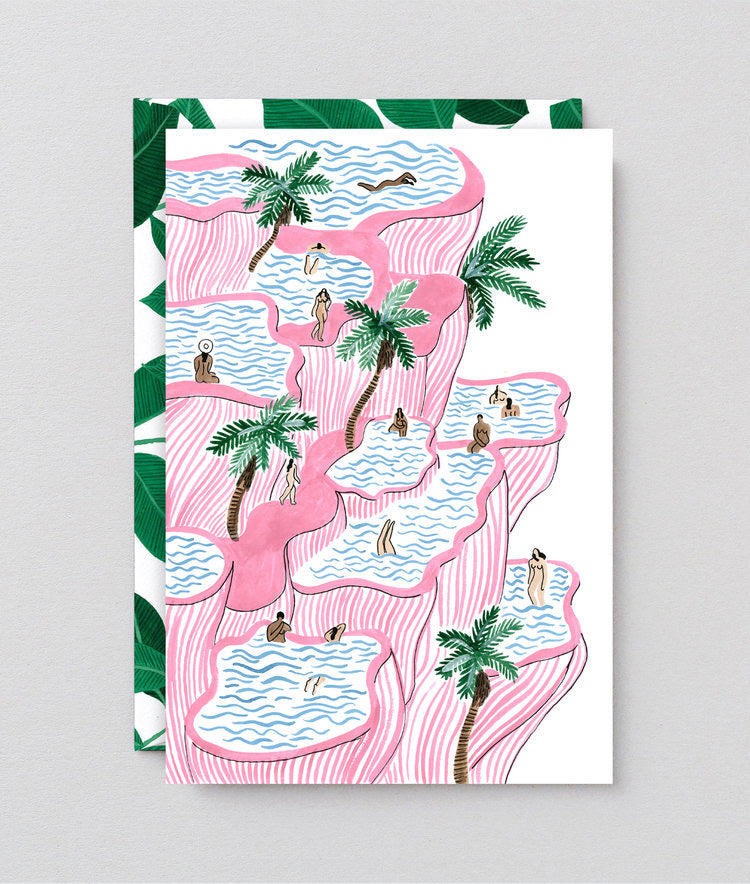 WRAP | Pamukkale Art Card