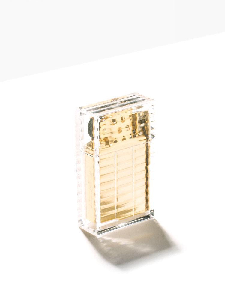 Refillable Lighter | Hard Edge Latitude Clear