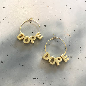 Karmen Victoria Studio | Dope Earrings | Gold/Small