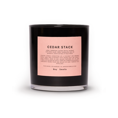 Boy Smells Candle | Cedar Stack