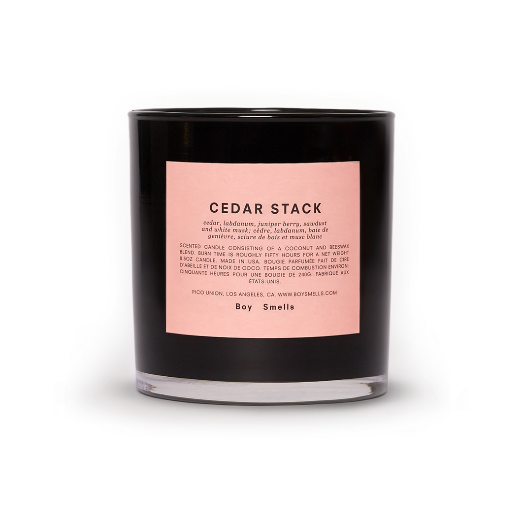 Boy Smells Candle | Cedar Stack *coming soon*