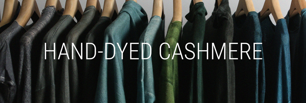 Hand-Dyed Cashmere