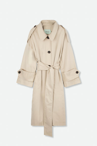 THE LOOM WIDE BELT TRENCH COAT