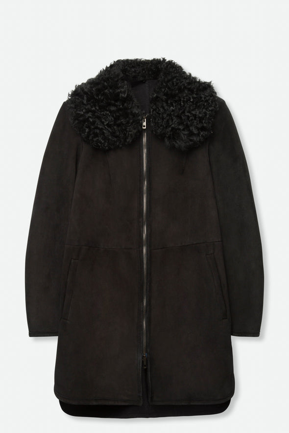 SALVATORE SANTORO SHEARLING COAT
