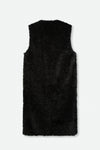 GILET VEST IN LEATHER SHEARLING