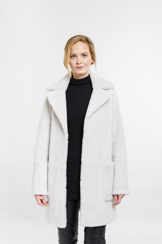 Shearling Overcoat