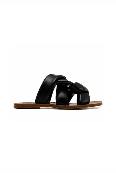 TRUNK SHOW: CROSSOVER SLIDES IN ITALIAN LEATHER