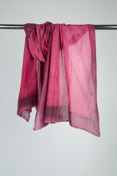RAILAY SCARF IN HAND-DYED CASHMERE